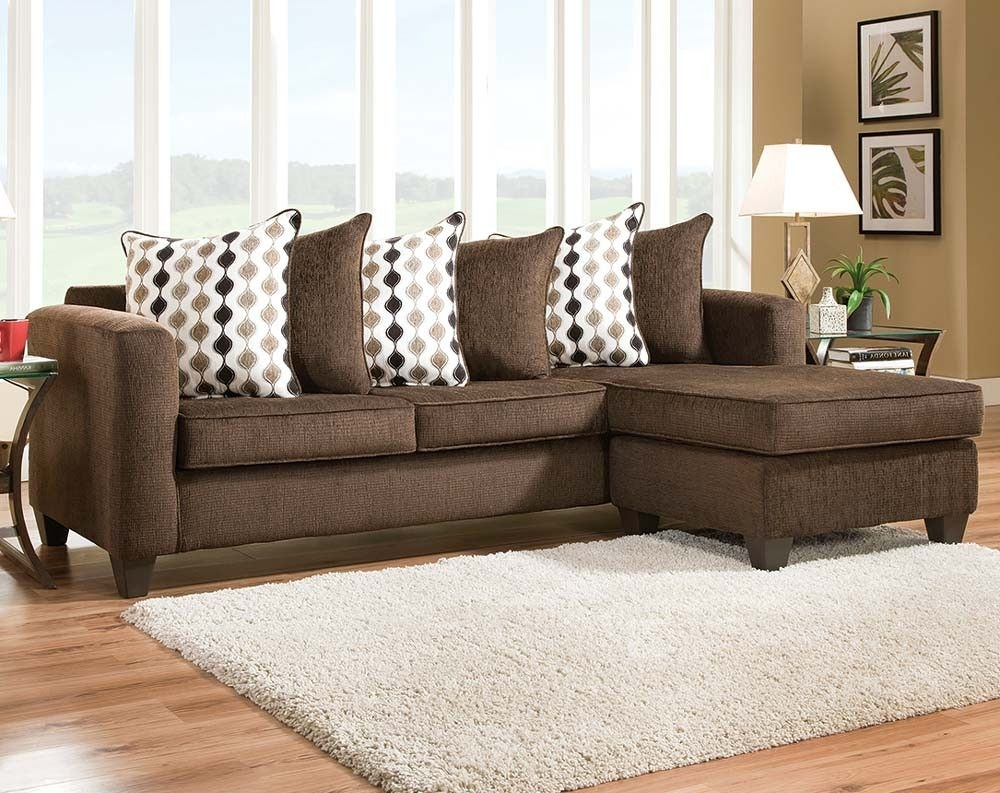 Dark Brown Sectional Sofa | Radar Mahogany Two Piece Sectional Sofa With Regard To Tallahassee Sectional Sofas (Image 3 of 10)