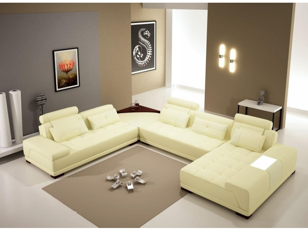 Decor U Shaped Sectional Sofa With Shaped Sectional Sofas You Must Throughout Modern U Shaped Sectional Sofas (View 9 of 10)
