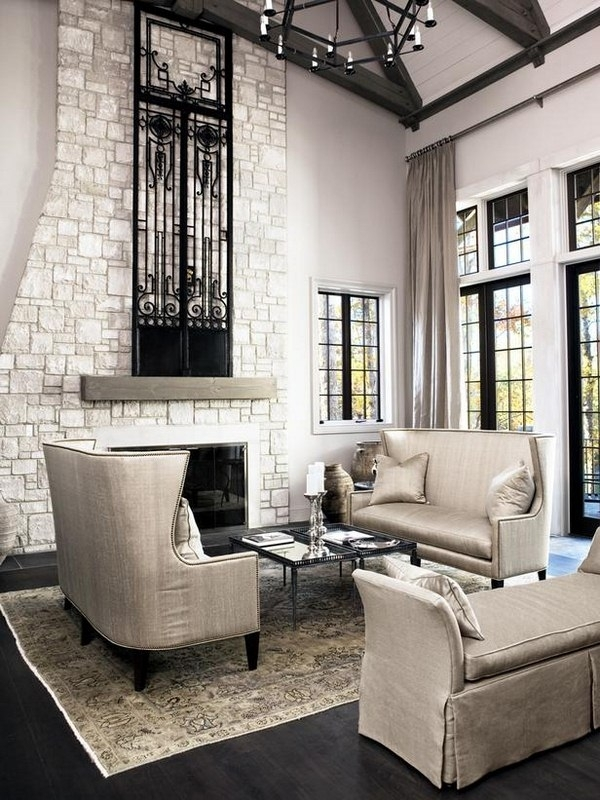 Decorating Tall Walls High Wall Ideas Ceiling Regarding Decor Plan Pertaining To High Ceiling Wall Accents (Image 1 of 15)