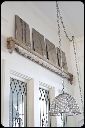 Decorating With Architectural Salvage – 25 Ideas For High End Within Architectural Wall Accents (View 4 of 15)