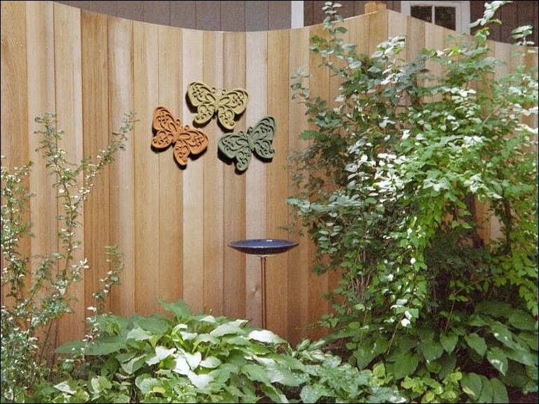Decoration In Outdoor Garden Wall Decor Garden Wall Decorations Within Garden Wall Accents (Image 4 of 15)