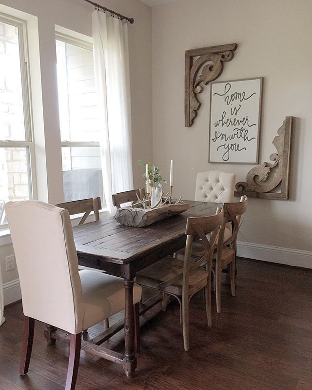 Decorations For Dining Room Walls Entrancing Design Ideas Intended For Wall Accents For Dining Room (Image 4 of 15)