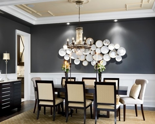 Decorations For Dining Room Walls With Fine Dining Room Wall Decor With Wall Accents For Dining Room (Image 7 of 15)