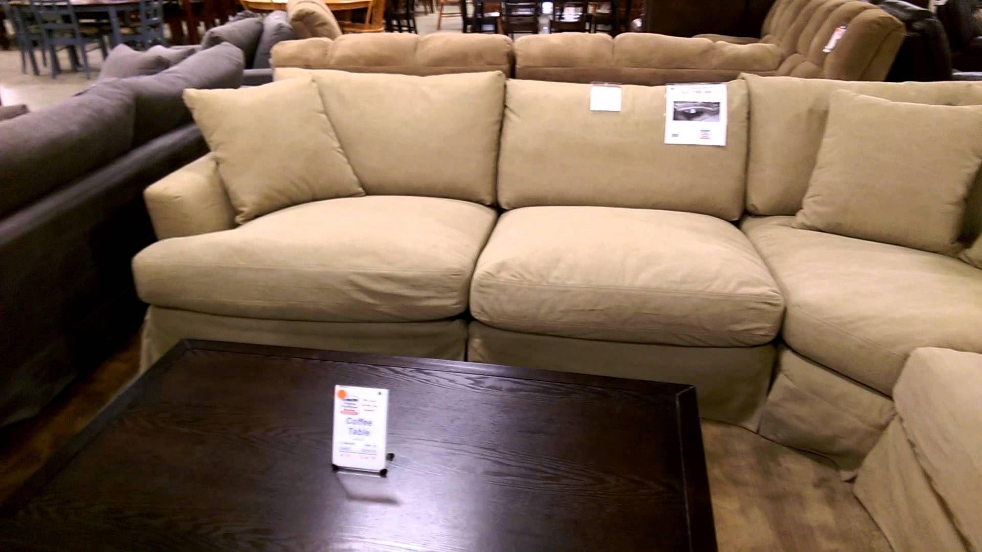 Deep Sectional Slipcovered Sarah Randolph Sofa | Vfm Showroom Intended For Deep Seating Sectional Sofas (Image 1 of 10)