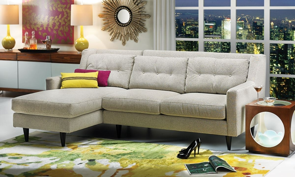 Del Rey Chaise Sectional Sofa | Haynes Furniture, Virginia's Throughout Haynes Sectional Sofas (Image 4 of 10)