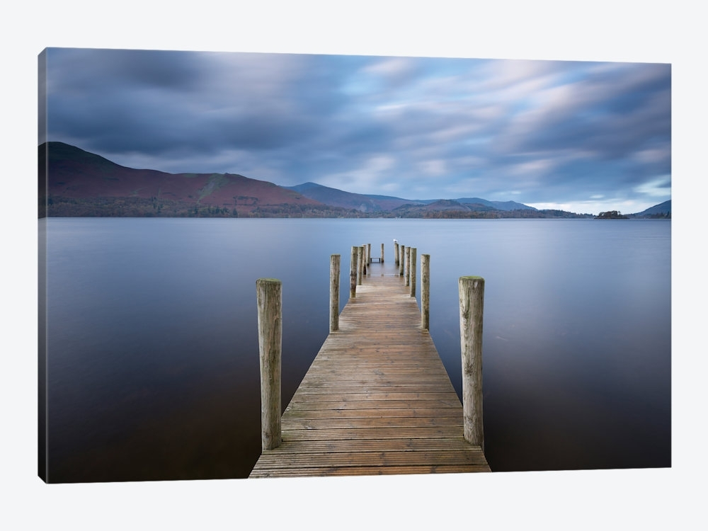Derwentwater Jetty Canvas Wall Artadam Burton | Icanvas Intended For Jetty Canvas Wall Art (Image 3 of 15)