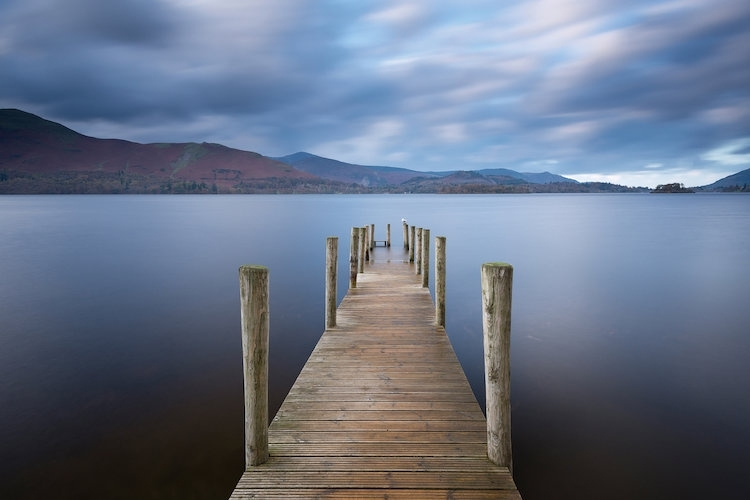 Derwentwater Jetty Canvas Wall Artadam Burton | Icanvas Within Jetty Canvas Wall Art (Image 4 of 15)