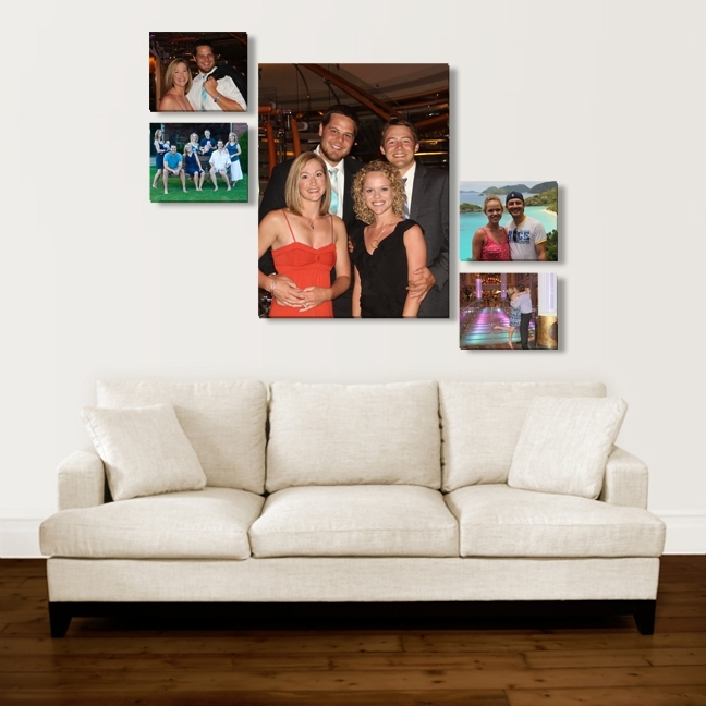 Design Your Home With Canvas Wall Art - Photographic Canvas Art in Groupings Canvas Wall Art