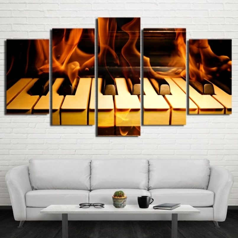 Designs : 5 Piece Framed Canvas Wall Art With 5 Piece Canvas Wall Inside Kohls 5 Piece Canvas Wall Art (Image 9 of 15)