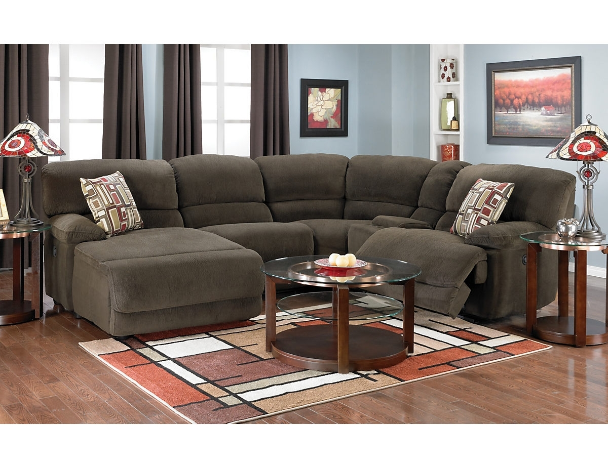 Devon 5 Piece Home Theatre Sectional, (Devonsec5) | The Brick In The Brick Sectional Sofas (Image 2 of 10)