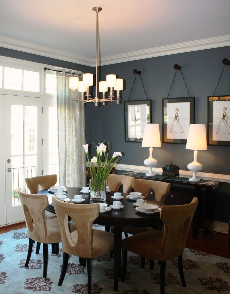 Dining Room Wall Decor | Home Design Plan Regarding Wall Accents For Dining Room (Image 10 of 15)