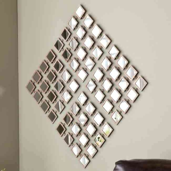 Discount Wall Mirrors Decorative Mirror Wall Art Wall Art Fancy Within Mirrors Wall Accents (Image 2 of 15)