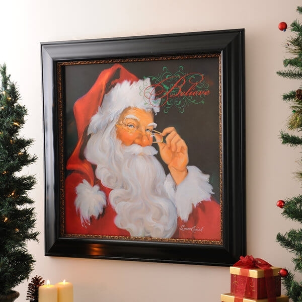 Discover The Magic Behind The Christmas Artist – My Kirklands Blog Within Christmas Framed Art Prints (View 4 of 15)