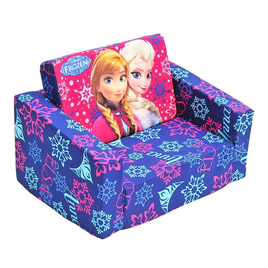 Disney Frozen Flip Out Sofa | Toys R Us Australia | Astrud's With Regard To Flip Out Sofas (View 10 of 10)