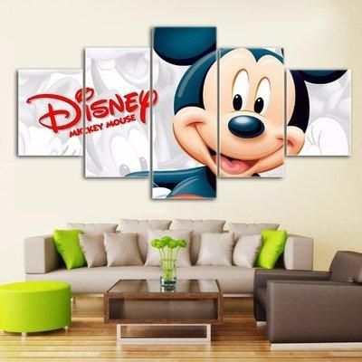 Disney Mickey Mouse Canvas Wall Art Price From Konga In Nigeria Throughout Mickey Mouse Canvas Wall Art (View 14 of 15)