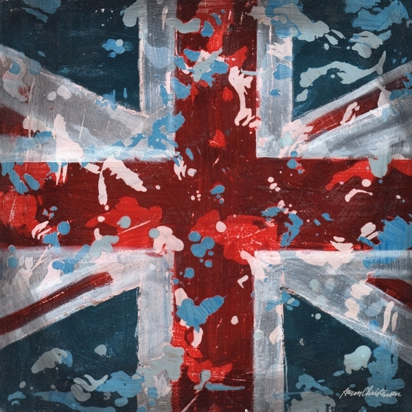 District17: Union Jack Flag Canvas Wall Art: Canvas Wall Art With Regard To Union Jack Canvas Wall Art (Image 5 of 15)