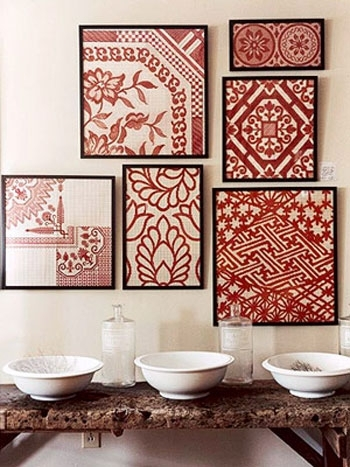 Diy Art For Your Home | Life With Art | The Tao Of Dana Pertaining To Diy Fabric Canvas Wall Art (View 6 of 15)