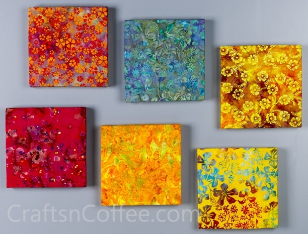 Featured Image of Batik Fabric Wall Art