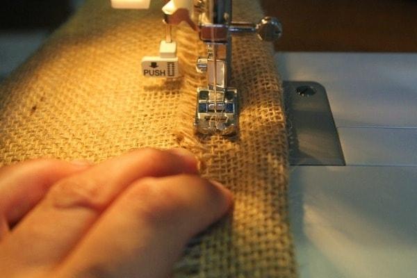 Diy Burlap And Fabric Wall Organizer Regarding Burlap Fabric Wall Art (Image 8 of 15)