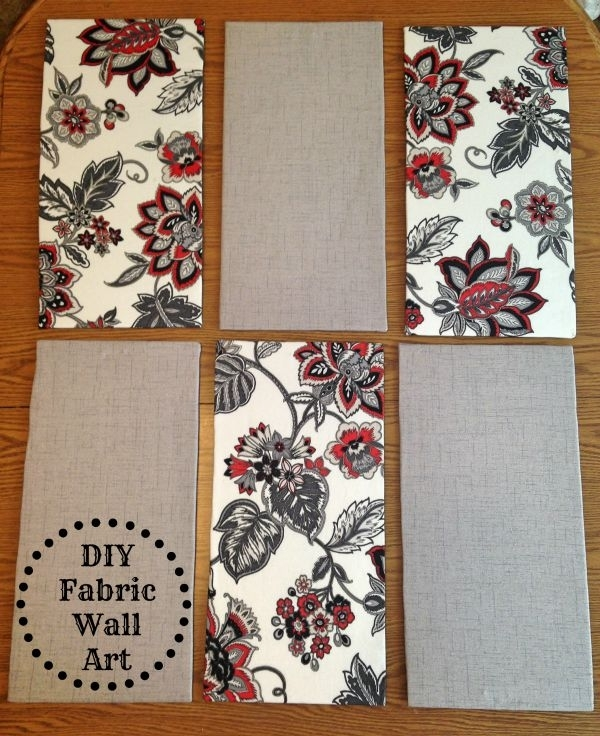 Diy Fabric Wall Art – Tornadough Alli Regarding Diy Fabric Wall Art (View 4 of 15)
