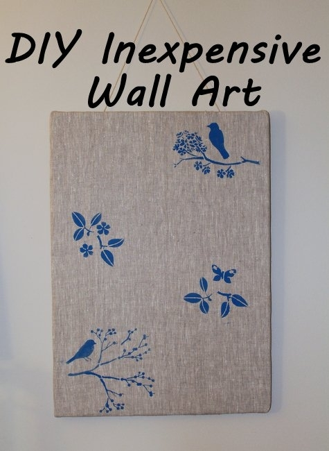 Diy Form Board Fabric Wall Art Panel Décor | Feltmagnet With Foam Board Fabric Wall Art (Image 2 of 15)