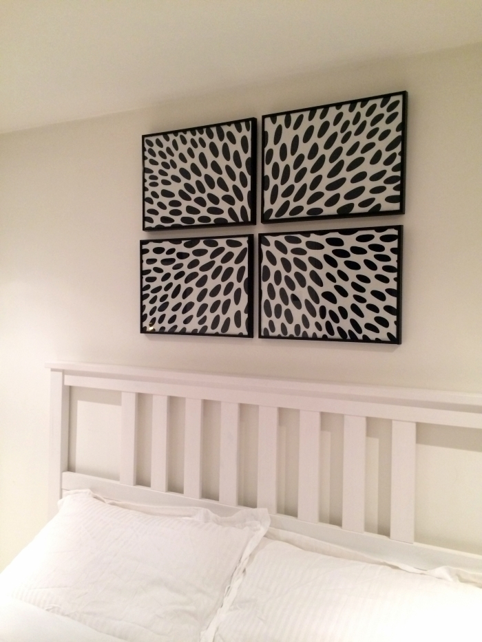 Diy: Framed Fabric Wall Art Within Bedroom Fabric Wall Art (Image 9 of 15)