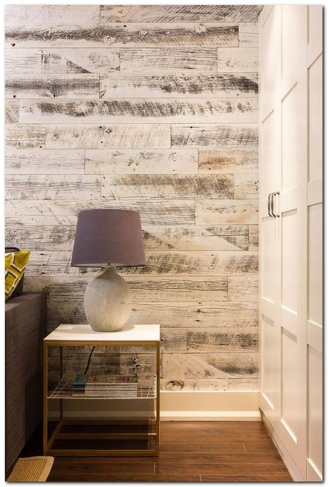 Diy Laminate Flooring On Walls And 30+ Inspirations | Laminate In Wall Accents With Laminate Flooring (View 11 of 15)
