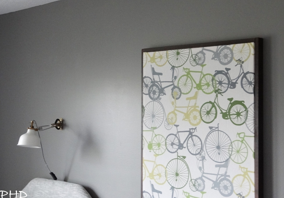 Diy Stretched Fabric Wall Art Pertaining To Iron Fabric Wall Art (View 8 of 15)