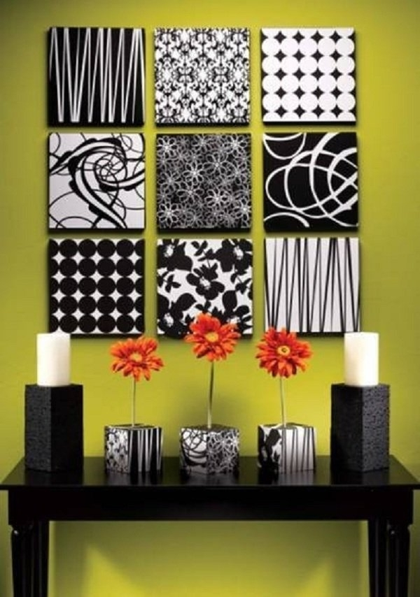 Diy Wall Art – 16 Innovative Wall Decorations – Ideachannels For Foam Fabric Wall Art (View 12 of 15)