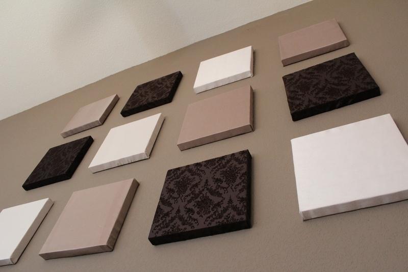 Diy Wall Art | Artistryadele With Diy Fabric Canvas Wall Art (View 3 of 15)