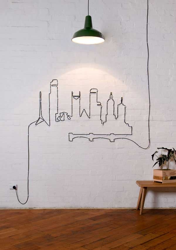 Diy Wall Decorations At Home And Interior Design Ideas In Diy Wall Accents (View 8 of 15)
