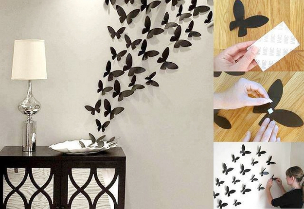 Diy Wall Decorations | Home Interior Decorating Ideas Pertaining To Diy Wall Accents (View 9 of 15)
