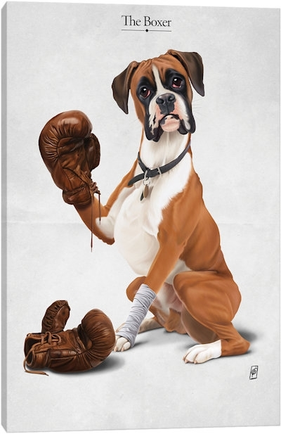 Dogs Canvas Art — Icanvas For Dogs Canvas Wall Art (Image 7 of 15)