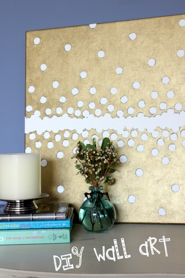 Domestic Divas In Training: Foam Board Fabric Wall Art – Super Tech For Foam Board Fabric Wall Art (Image 3 of 15)