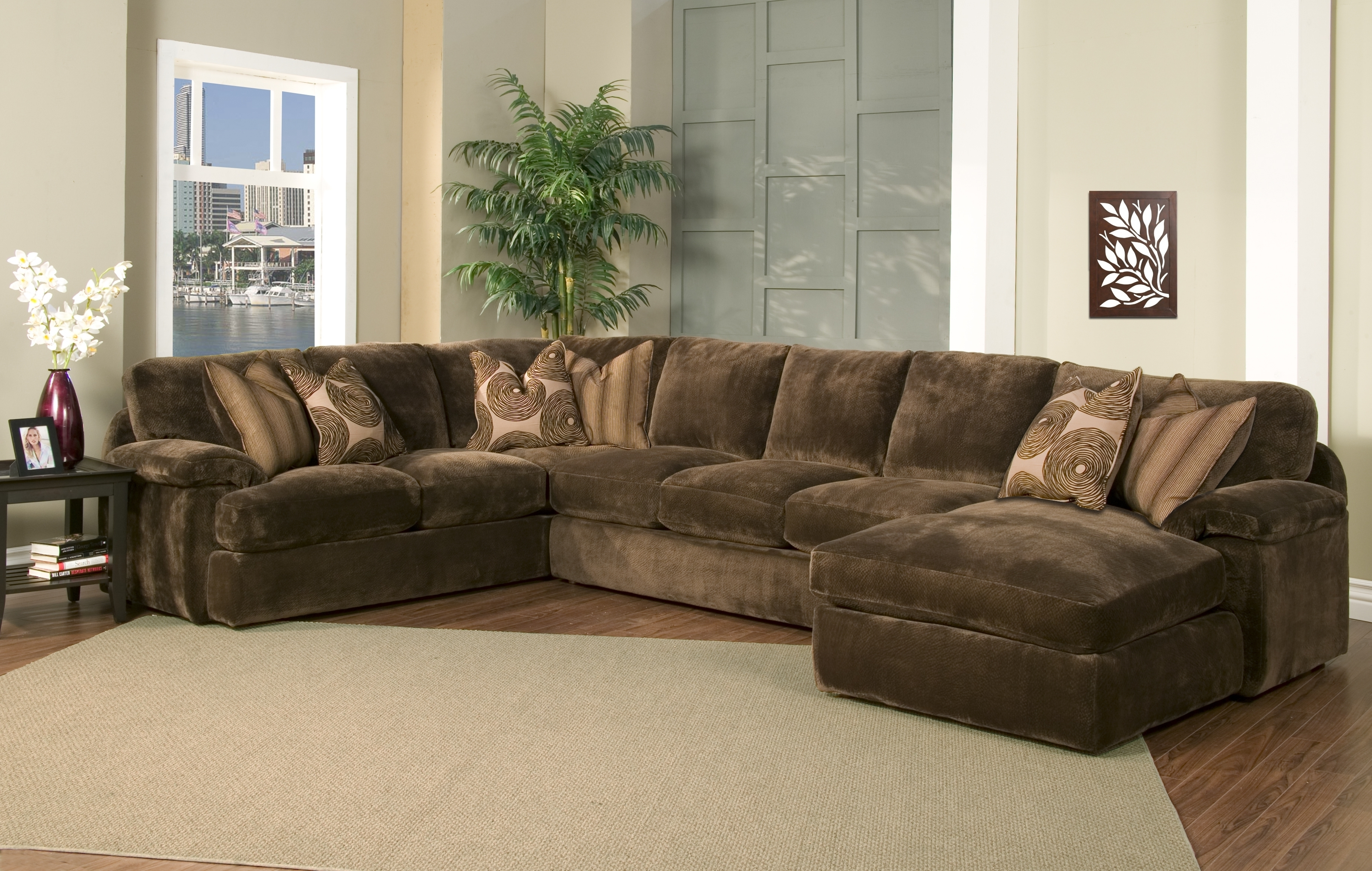 Down Feather Sectional Sofa • Sectional Sofa Regarding Down Feather Sectional Sofas (Image 3 of 10)