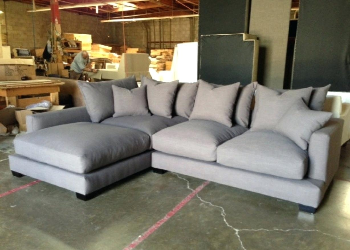 Down Filled Couch Portable With Air Water – Ncgeconference Throughout Down Filled Sectional Sofas (Image 3 of 10)