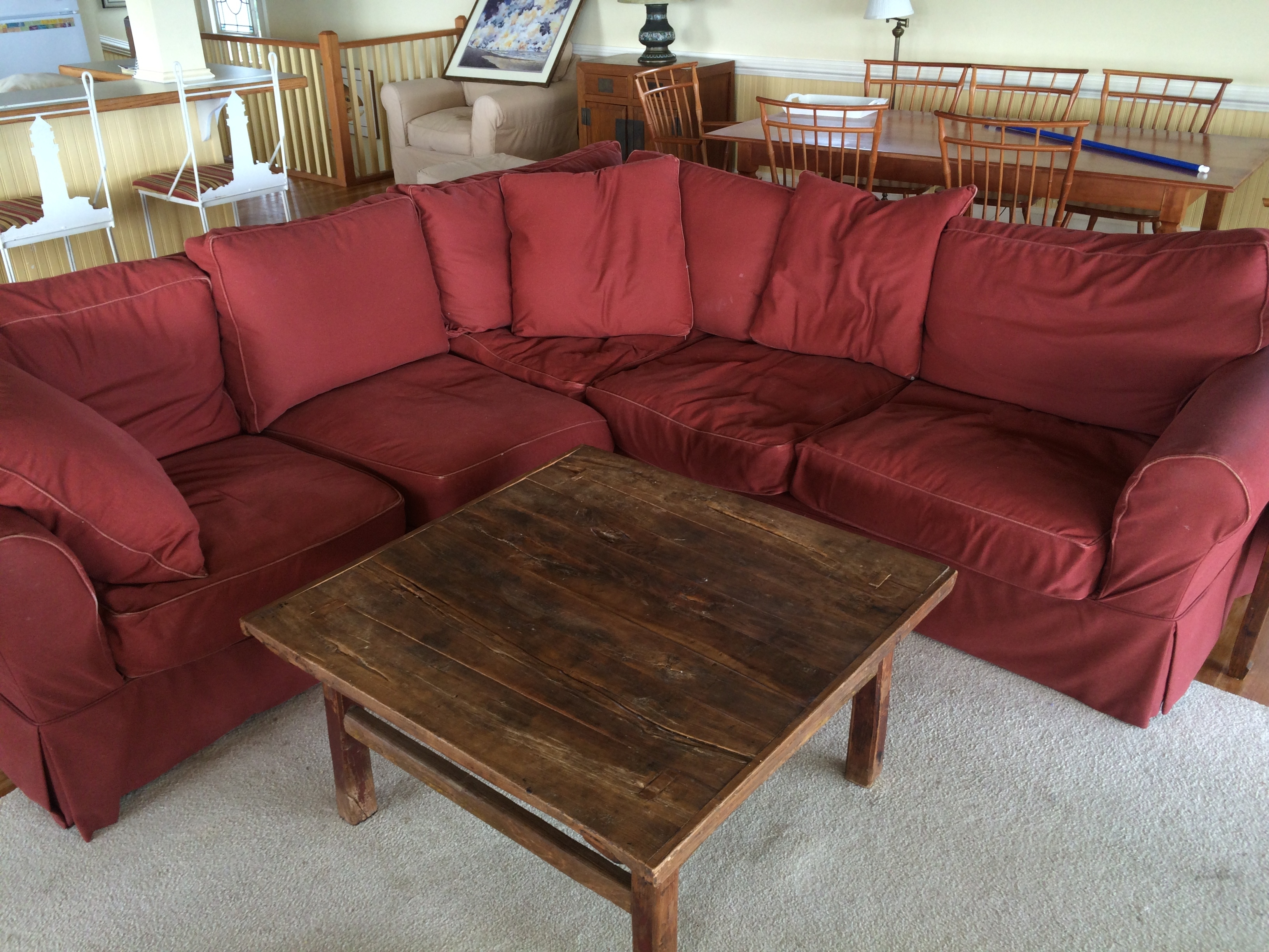 Down Filled Sectional Sofa – Hotelsbacau Intended For Down Filled Sectional Sofas (Image 4 of 10)