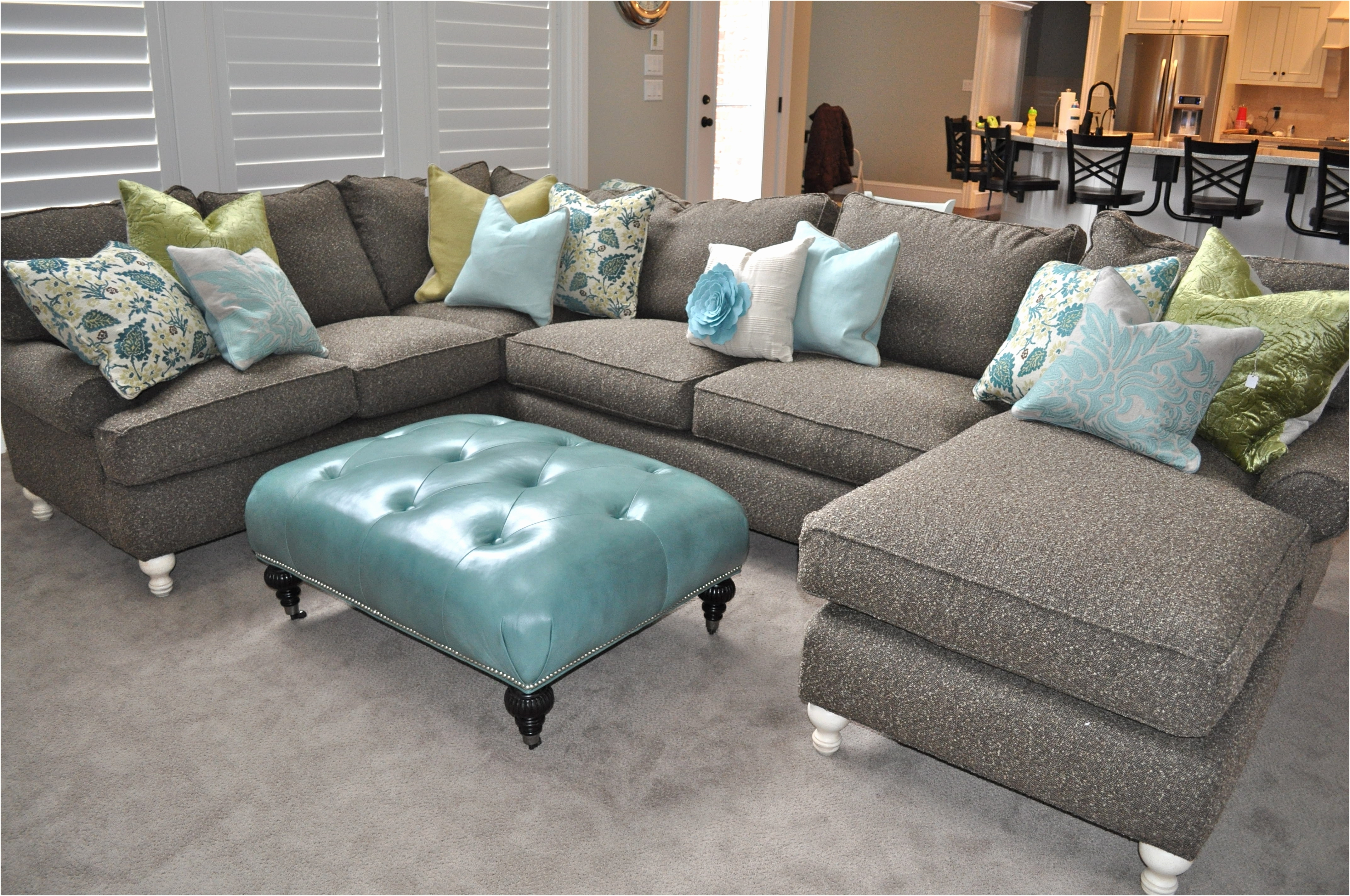 Down Sectional Couches Filled Sofa Feather Macys Canada Stunning As With Down Filled Sofas (Image 2 of 10)