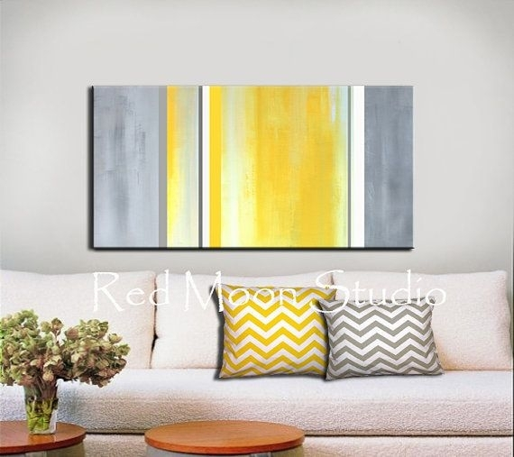 Download Grey And Yellow Wall Art | Himalayantrexplorers Regarding Yellow And Grey Abstract Wall Art (Image 3 of 15)