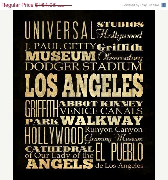 Download Los Angeles Wall Art | Himalayantrexplorers Pertaining To Los Angeles Canvas Wall Art (Image 8 of 15)
