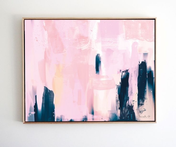 Download Pink Wall Art | Himalayantrexplorers Throughout Pink Abstract Wall Art (View 3 of 15)