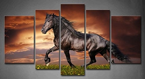Download Wall Art Horses | Himalayantrexplorers For Horses Canvas Wall Art (Image 5 of 15)