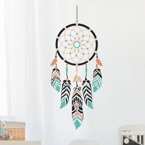 Featured Image of Dreamcatcher Fabric Wall Art
