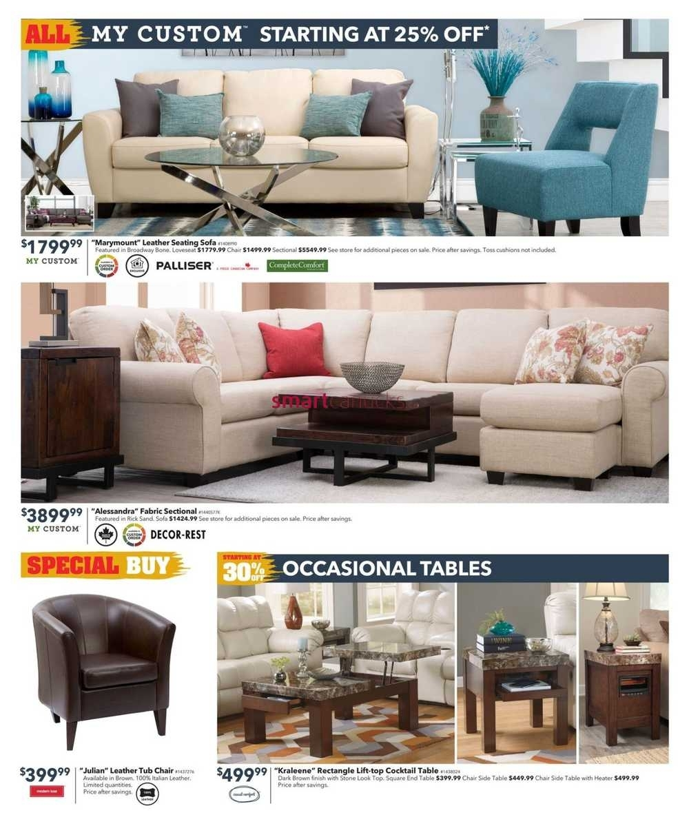 Dufresne Flyer November 3 To 16 For Dufresne Sectional Sofas (Image 2 of 10)