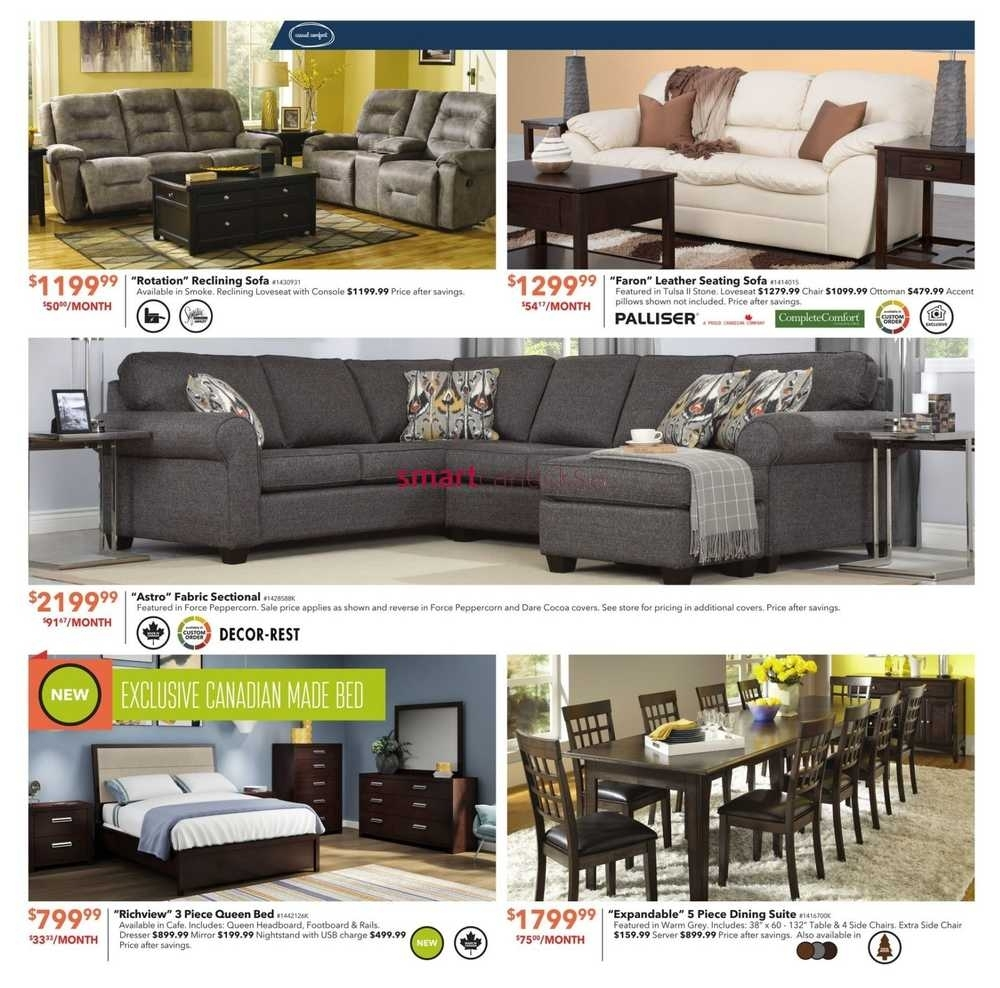 Dufresne Flyer October 20 To November 2 With Regard To Dufresne Sectional Sofas (Image 7 of 10)