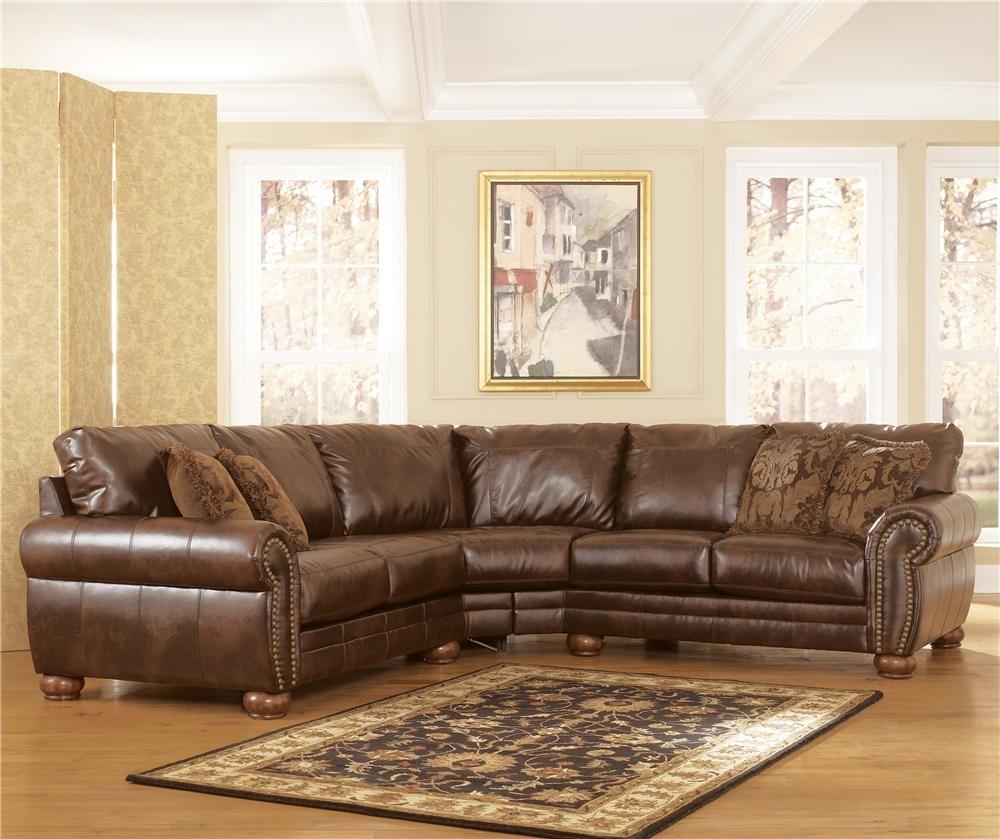 Durablend – Antique Stationary Sofa Sectionalsignature Design Regarding Jackson Ms Sectional Sofas (Image 3 of 10)