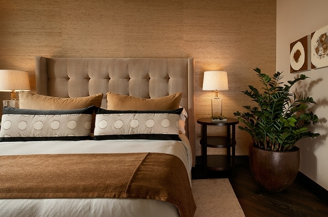 Earth Tones Bedroom Ideas And Photos | Houzz With Earth Tones Wall Accents (Image 11 of 15)