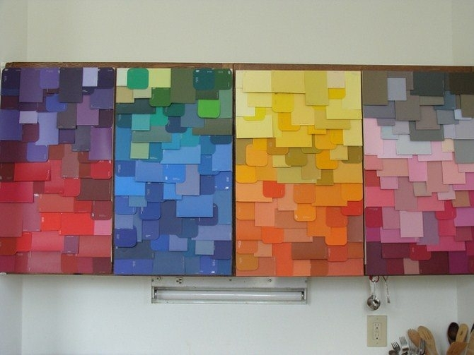 Featured Photo of Fabric Swatch Wall Art