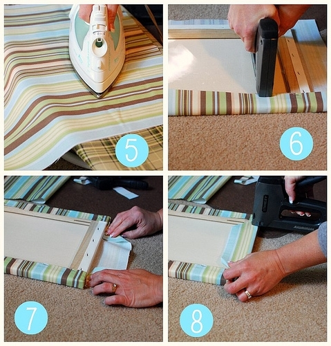 Easy Fabric Covered Canvas Wall Art Regarding Canvas And Fabric Wall Art (Image 6 of 15)