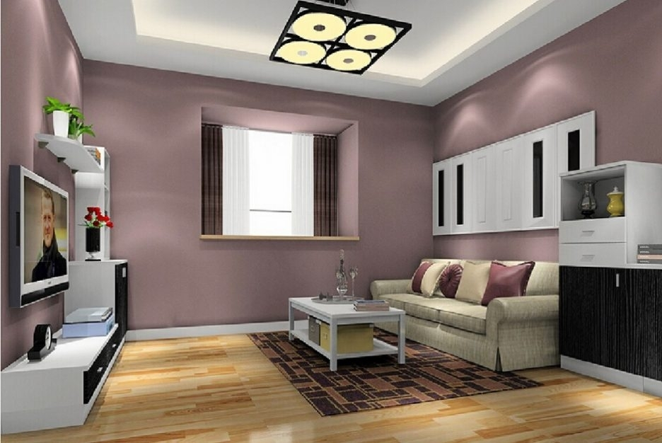 Easy Paint Designs For Walls Accent Wall Colors Ideas Wall Paint Pertaining To Wall Accents For Beige Room (View 13 of 15)